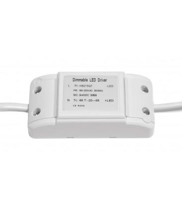 Transformateur dimmable TRIAC pour encastrable LED extra-plat 12W