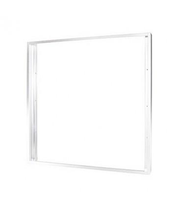 Cadre Aluminium pour Dalle LED 60x60cm - Finition Blanc