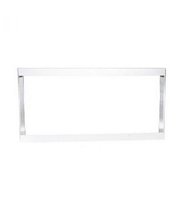 Cadre Aluminium pour Dalle LED 120x60cm - Finition Blanc