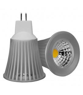 Ampoule LED MR16/GU5.3 - 5W - COB Bridgelux