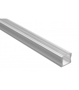 Profilé Led - Série U15 - 1,5 mètres - Diffuseur Transparent
