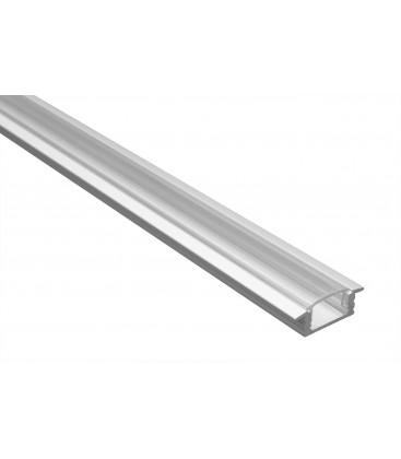 Profilé LED - Serie T07 - 1.5 Mètre - Diffuseur Transparent