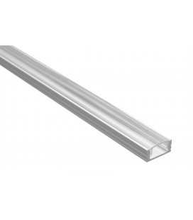 Profilé LED - Serie U07 - 1.5 Mètre - Diffuseur Transparent
