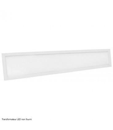 Dalle LED Ecolife Cadre Blanc - 120x15cm - 40W