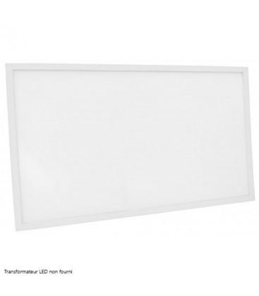 Dalle LED Ecolife Cadre Blanc - 120x60cm - 75W