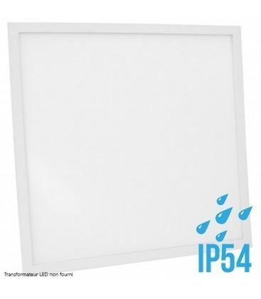 Dalle LED Proline Cadre Blanc - 60x60cm - 40W - IP54 ( Alimentation non fournie)