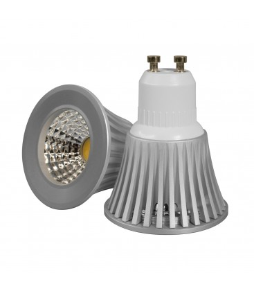 Ampoule LED 5W Dimmable - COB Bridgelux - GU10