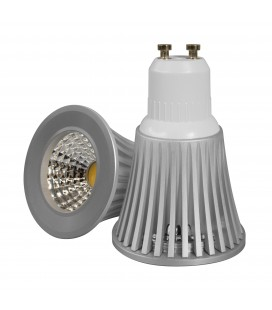 Ampoule LED GU10 - PAR16 - 7 W - COB Bridgelux - Ecolife Lighting®