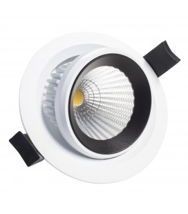Encastrable Orientable LED 100mm - 10W - IP40-DeliTech