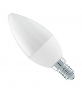 Ampoule LED - E14 - 4 W - B35 - Blanc Chaud - Ecolife Lighting®