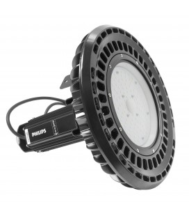 Cloche LED UFO / suspension industrielle - 100 W - Full Philips - ALTHAE - DeliTech® - Usiné en France