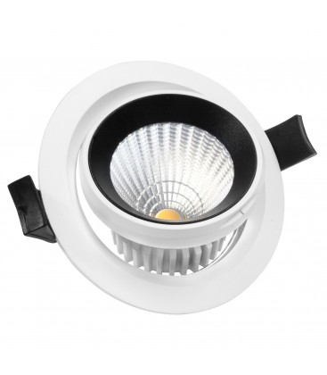 Encastrable Orientable LED IP54 - 10W - Ecolife Lighting®