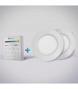 Maestro™ Kit de démarrage 2 encastrables 6W + télécommande radiofréquence