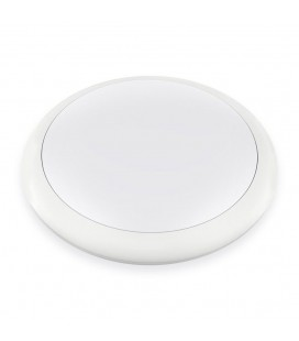 Hublot LED Rond 25W IP65 320mm Blanc Neutre - NOVA - DeliTech®