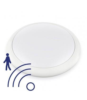 Hublot LED Rond IP65 avec détecteur - 25W - 320mm - NOVA by DeliTech® - Blanc Neutre
