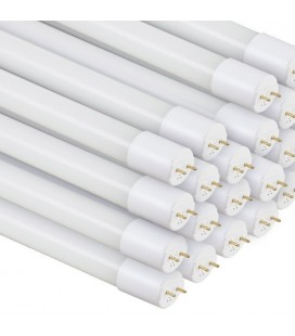 Pack de 25 Tubes LED en verre - T8 Ecolife Lighting - 1200mm - 18W - Blanc Froid
