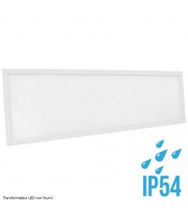 Dalle LED - Cadre Blanc-120x30cm-40W-IP54-Nova-DeliTech® (Alimentation non fournie)