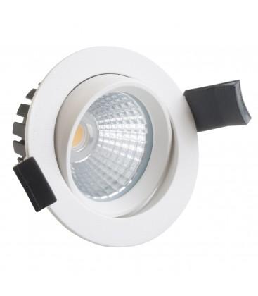 Encastrable LED orientable IP54 - 8W - 78CL - COB Citizen - Blanc Neutre