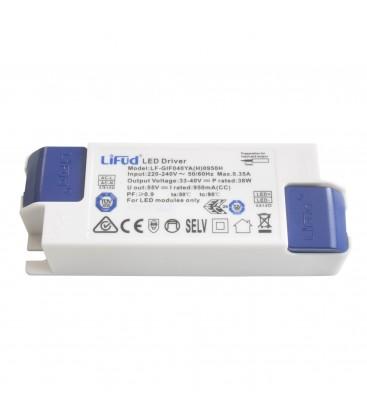 """Alimentation LED 40W - non dimmable - non """"flicker"""" - 950mA - LIFUD"""