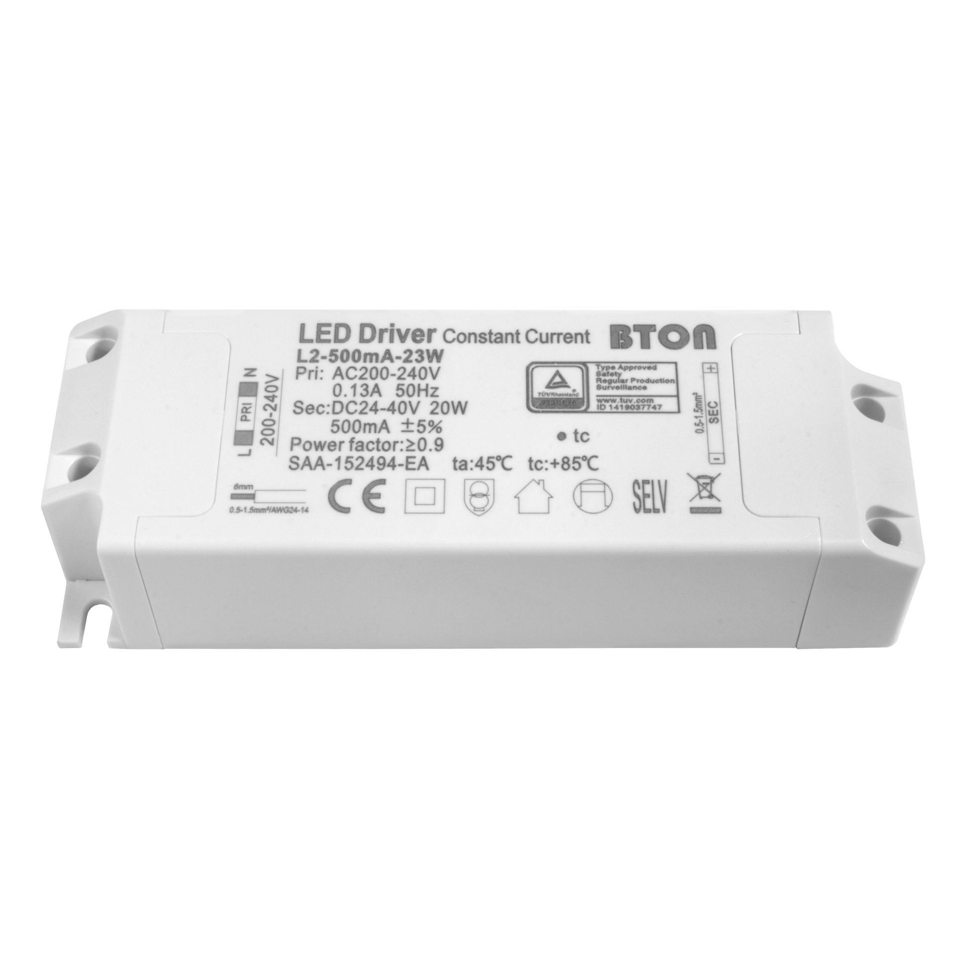 18w 500ma Led Pour Encastrable Non Driver Dimmable Decoreno y0n8mwvNO