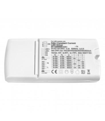 Alimentation dimmable DALI 25W - 600mA 24/38V