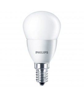 Ampoule LED E14 Dépolie - Philips - CorePro LED 4-25W - Blanc Chaud