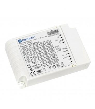 Alimentation dimmable 3 en 1 DALI / 1-10V / Push DIM - Ajustable de 20W à 40W