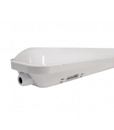 Réglette LED intégrée - Double - 1200mm - 40W - IP66 - Étanche