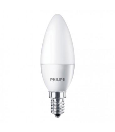 Ampoule LED E14 Philips - CorePro LED 5,5-40W Dépolie - Blanc Chaud