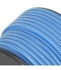 Câble textile -sur mesure- Bleu Nuit