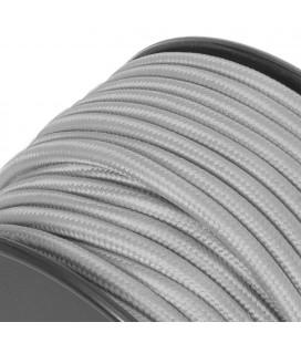 Fil électrique tissu-sur mesure-Gris