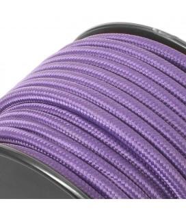 Câble électrique tissu - Sur-mesure - Violet