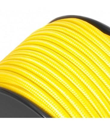 Câble suspension luminaire -sur mesure-Jaune