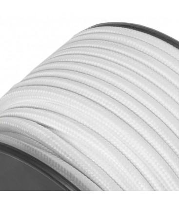 Câble suspension tissu-au mètre-Blanc