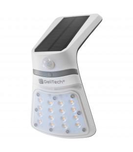 Applique Murale LED Solaire - 2W - IP65 - Avec détecteur de mouvement
