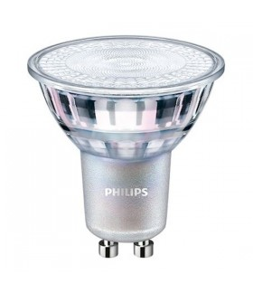 Ampoule LED GU10 - Philips MASTER LED spot Dimmable 4,9-50W - 60° - IRC90 - Blanc Neutre