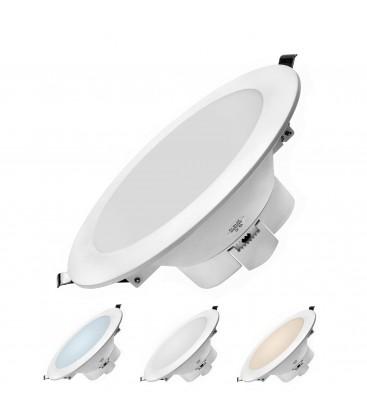 Encastrable LED 16W - Dimmable - Triple couleur de blanc - NOVA - DeliTech®