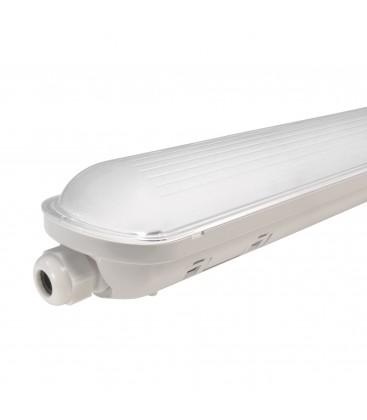 Réglette LED intégrée - Étanche IP65 - 590mm - 20W - Blanc Pur - NOVA - DeliTech®