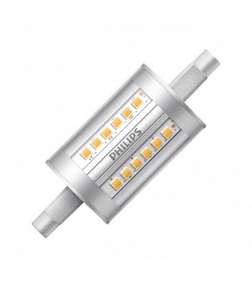 Ampoule LED R7S - Philips - CorePro LED 7,5-60W 78mm - Blanc Neutre