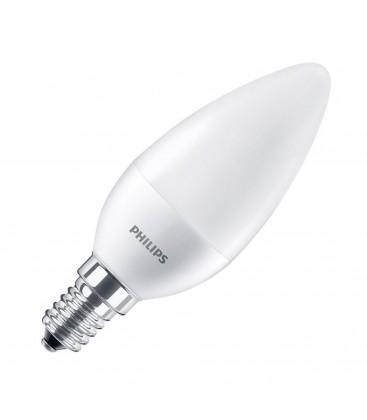 Ampoule LED E14 Philips - CorePro LEDcandle 5,5-40W E14 4000K Dépolie - Blanc Neutre