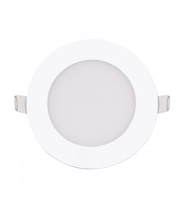 Encastrable LED extra-plat - 6W - Rond - D85mm - DeliTech®
