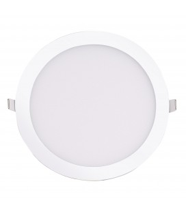 Encastrable LED extra-plat - 24W - Rond - D296.5mm - DeliTech®