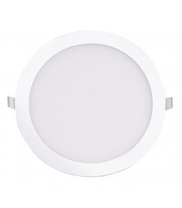 Encastrable LED extra-plat - 24W - Rond - D296.5mm - DeliTech®