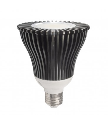 Ampoule LED E27 - 20W - COB Sharp - PAR30 - Blanc Chaud