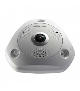 Caméra IP Hikvision DS-2CD63C5G0E-IVS Fisheye 360° Ultra HD 12MP PoE