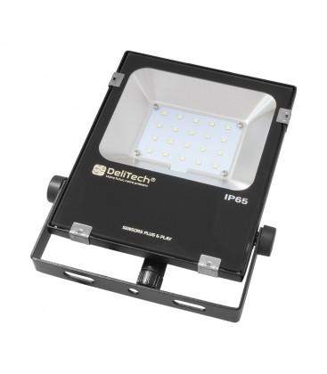 Projecteur LED NOVA Sensor Ready - 20W - IP 65 - DeliTech™