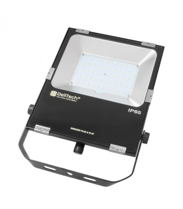 Projecteur LED NOVA Sensor Ready - 50W - IP 65 - DeliTech™