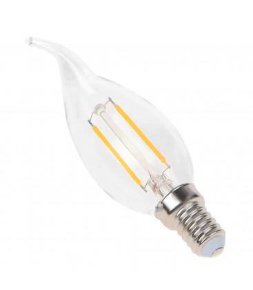 Ampoule LED E14 Flamme - 2.5W - Filament