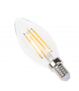Ampoule LED - E14 - BA35 - 4W - Filament Epistar