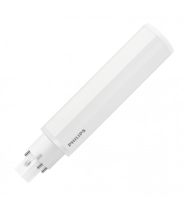 Ampoule LED G24 Philips - CorePro LED PLC 9W 840 4P G24q-3 - Blanc Neutre